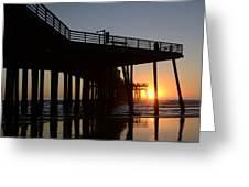 Pismo Beach Pier California 2 Greeting Card