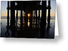 Pismo Beach Pier California 7 Greeting Card