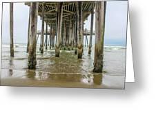 Pismo Beach Pier Greeting Card