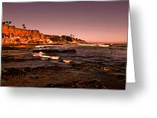 Pismo Beach Sunset Greeting Card