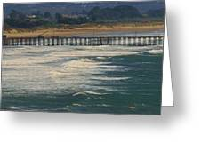 Pismo Greeting Card