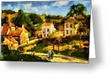 Pissaro L,hermitage Greeting Card