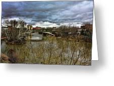 Pisuerga River Greeting Card