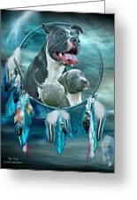 Pit Bulls - Rez Dog Greeting Card