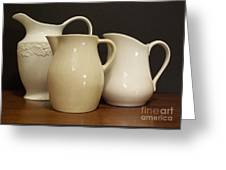 Pitcher Collection Greeting Card