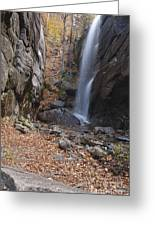 Pitcher Falls - White Mountains New Hampshire Greeting Card