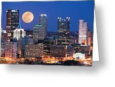 Pittsburgh 6 Greeting Card by Emmanuel Panagiotakis