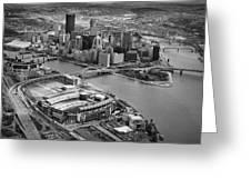 Pittsburgh 9 Greeting Card by Emmanuel Panagiotakis