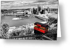 Pittsburgh From The Incline Greeting Card