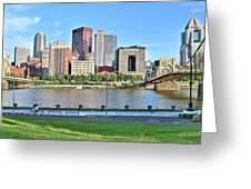 Pittsburgh Pa Panoramic Greeting Card