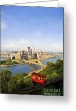 Pittsburgh Pennsylvania Incline Greeting Card