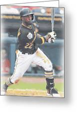 Pittsburgh Pirates Andrew Mccutchen 3 Greeting Card