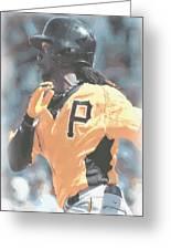Pittsburgh Pirates Andrew Mccutchen Greeting Card