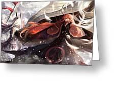 Pixiv Fantasia T Greeting Card