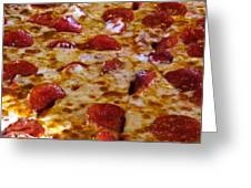 Pizza Pie Greeting Card