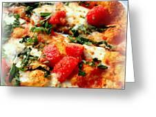 Pizza San Juan  Greeting Card