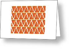 Pizza Slices Greeting Card