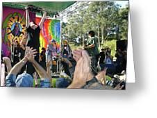Pk Leads Jefferson Starship Photo Greeting Card