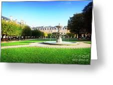 Place De Vosges, Paris Greeting Card