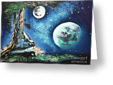 Place For Dreaming Greeting Card