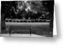 Place In The Shade Greeting Card