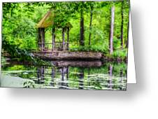 Place To Relax And Meditate  Greeting Card