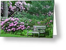 Place To Rest Greeting Card