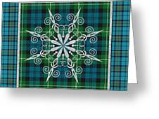 Plaid Snowflakes-jp3704 Greeting Card