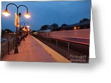 Plainfield Train Station Greeting Card