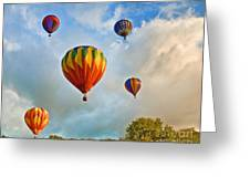 Plainville Balloons 2 Greeting Card