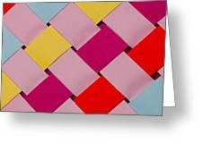 Plaited Greeting Card by John White