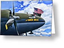 Plane - Curtiss C-46 Commando Greeting Card