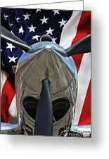 Planes Of Fame P-40c Warhawk Greeting Card
