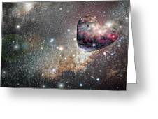 Planet Love Greeting Card