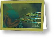 Planet Of Origin Greeting Card