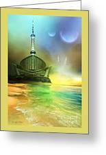 Planet Paladin Greeting Card