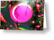 Planet Rainbow Greeting Card