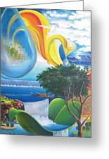 Planet Water - Leomariano Greeting Card