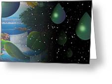 Planet Water  Greeting Card