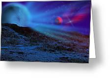 Planet X Greeting Card