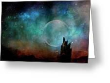 Planetary Soul Chava Greeting Card