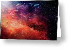 Planetary Soul Violet Greeting Card