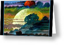 Planets Image One Greeting Card