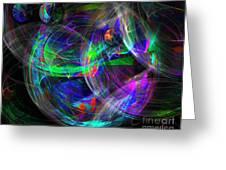 Planets Of Vega Greeting Card