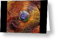 Planets Unstable Greeting Card