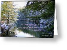 Plans Of Hope Greeting Card