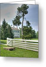 Plantation Home Greeting Card