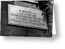 Plaque Commemorating Chicago Pile-1 Greeting Card