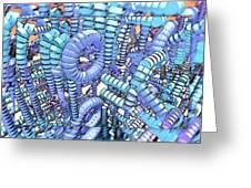 Plastique Greeting Card