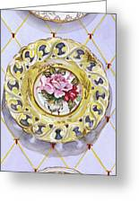 Plate Collection II Greeting Card